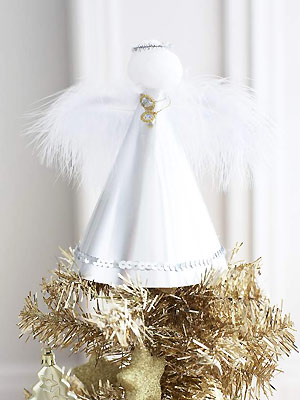 make a christmas angel for the tree - Christmas Angel Decorations