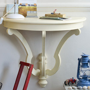 Recycled Chic: Half Moon Table