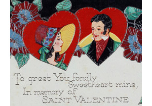 Valentine card from 1915
