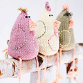 PP apr09 Easter chicks to knit - Free knitting patterns - Craft - allaboutyou.com