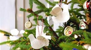 Paper Doves Tree Decorations To Make